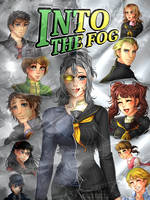 Commission: Into The Fog Cover by manu-chann