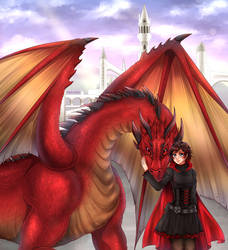Commission: Ruby And Cerise by manu-chann