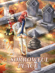 Commission: Sorrowful Peace Cover by manu-chann