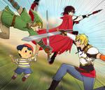 Patreon Free Sketch: RWBY Smash Bros? by manu-chann