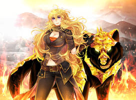 Commission: Yang's Crystal Grimm by manu-chann