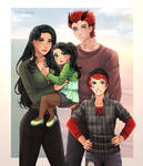 Commission: Taurus-Hunter Family