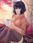 Patreon Fanart: Comfy Blake by manu-chann