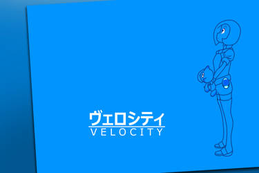[GIFT] Velocity Wallpaper by ZachYahooXD