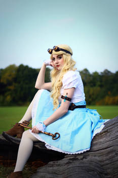 Steampunk Alice in Wonderland - 05