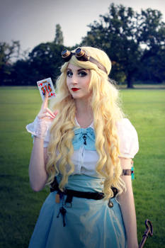 Steampunk Alice in Wonderland - 06