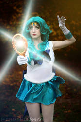 Sailor Neptune - Deep Aqua mirror by bulleblue