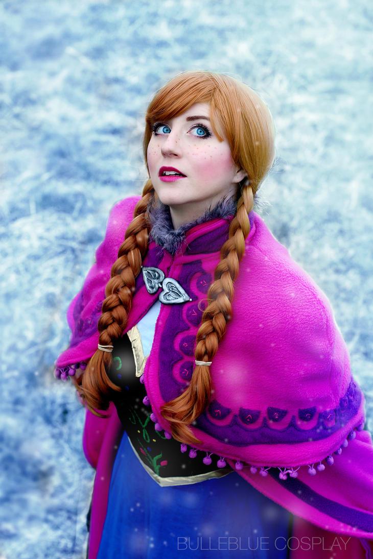 Anna - Frozen by bulleblue