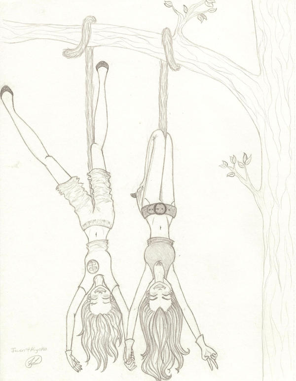 Two Monkeys Hanging in a Tree by Voltenia on DeviantArt