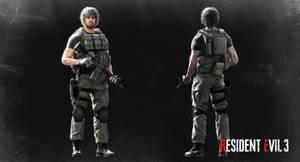 Resident Evil 3 (remake) - Carlos Oliveira_XPS