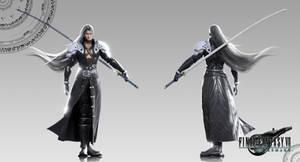 FFVII (Remake) - Sephiroth_XPS