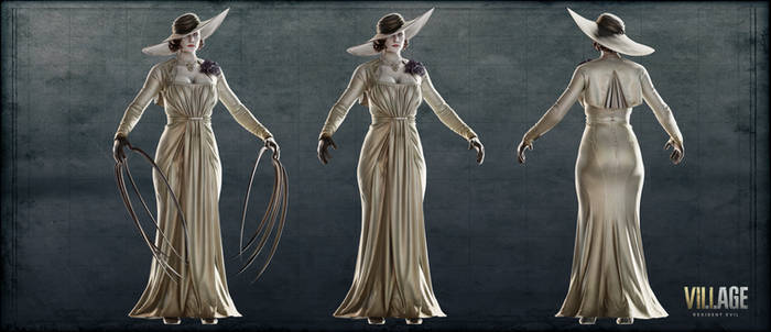 Resident Evil Village - Lady Dimitrescu_XPS