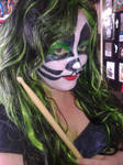 Me with Peter Criss Makeup
