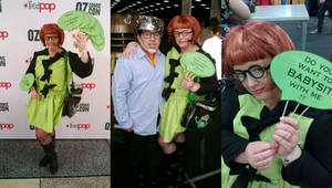 Ghostbusters 2 Janine Melnitz Costume