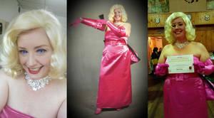 Marilyn Monroe Diamonds Cosplay