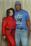 Me with Christopher Judge