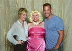Me with Nicholas Brendon and Emma Caufield