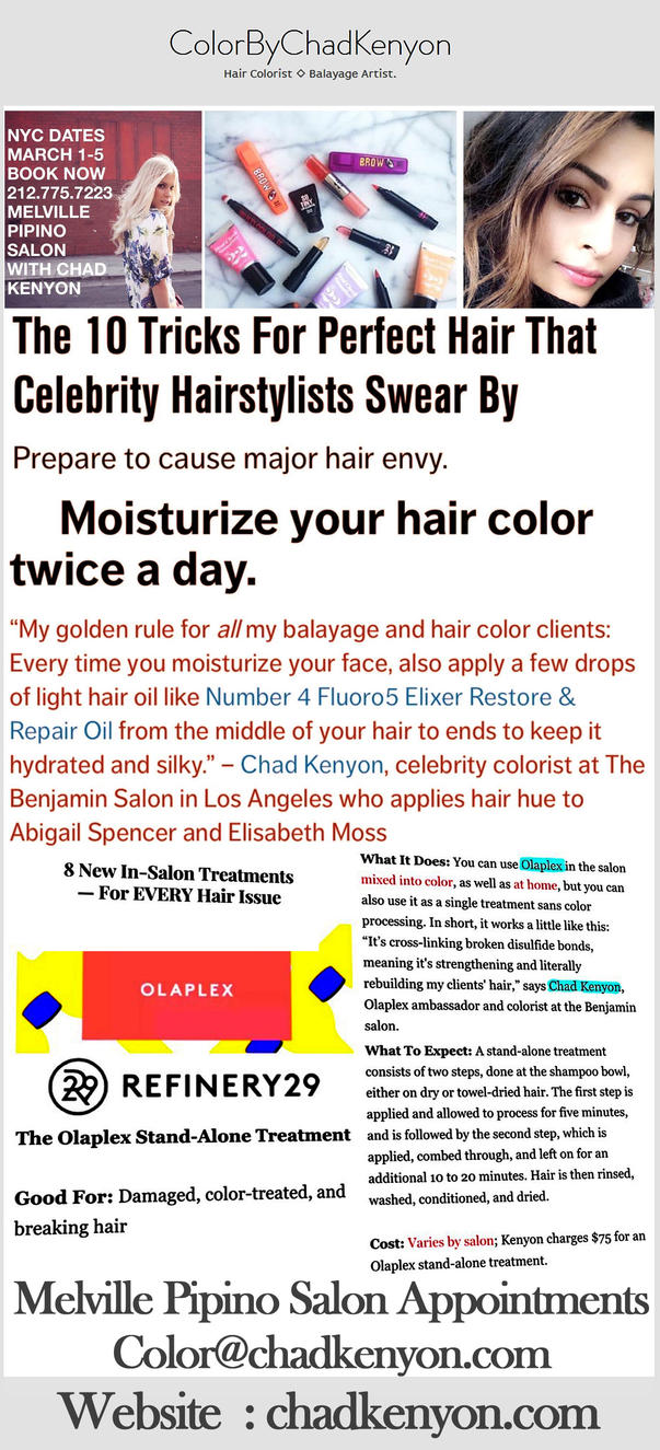Los Angeles Celebrity Hairstylists | Hollywood Reporter