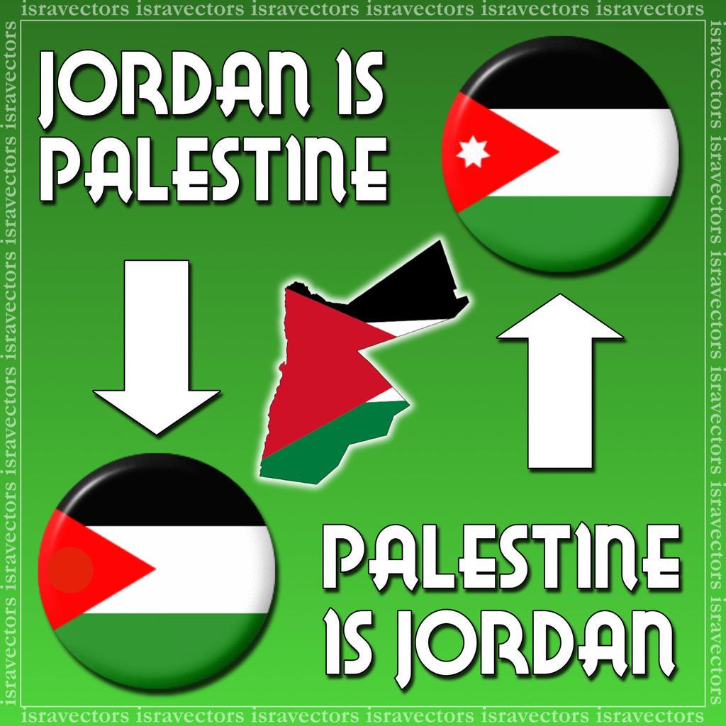 Asociar Distante Gimnasio  Jordan Is Palestine by israVectors on DeviantArt
