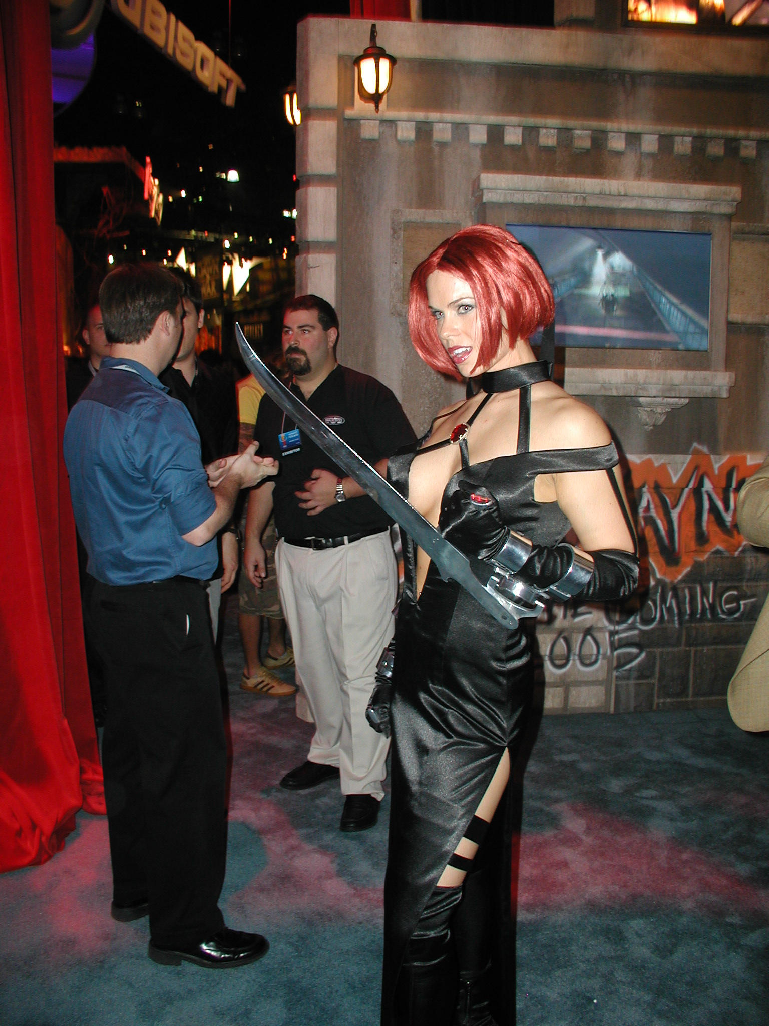 Booth Babe for Bloodrayne 2 by djtyrant on DeviantArt