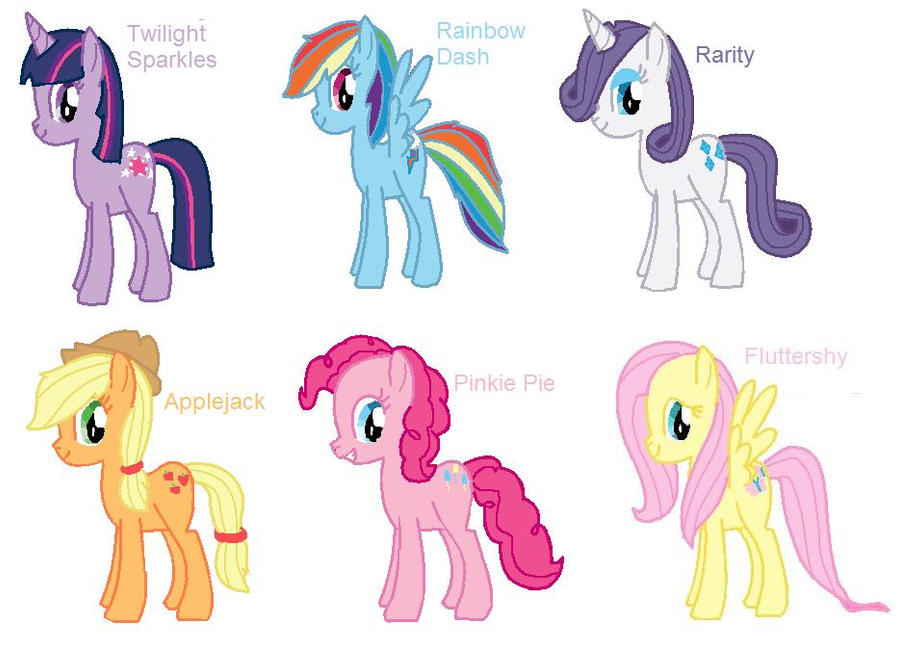 my little pony friendship is magic drawing by imtailsthefoxfan on