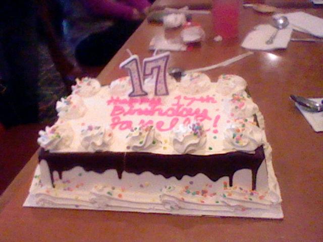 my 17th birthday cake by imtailsthefoxfan on deviantart