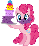 Pinkie Pie with Cake
