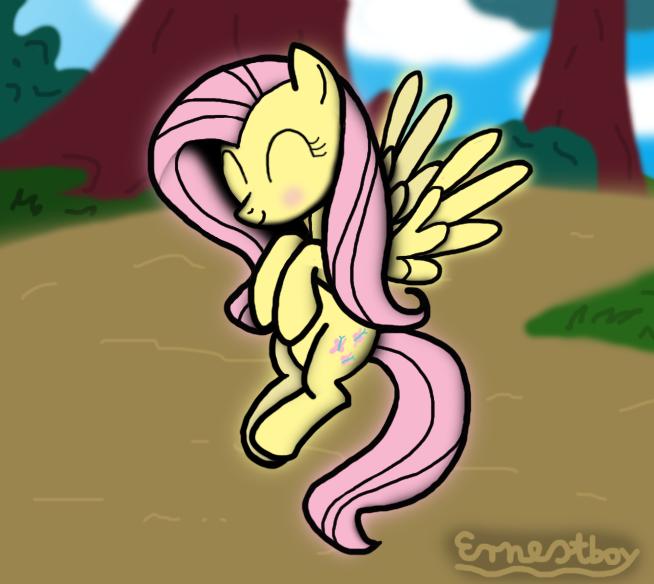 Fluttershy by Ernestboy