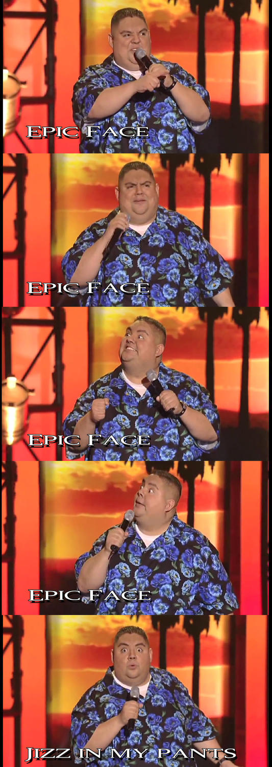 Epic Face: Gabriel Iglesias by dakln