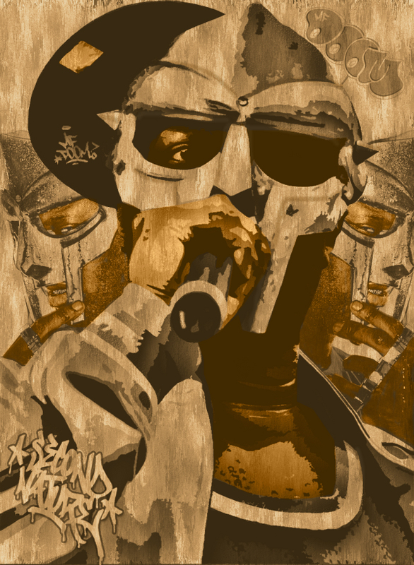 MF DOOM by ShaunEdwards