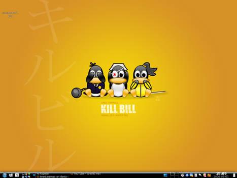 My Kubuntu desktop