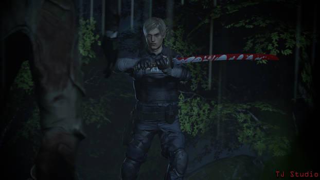 [Resident Evil SFM] Samurai Leon
