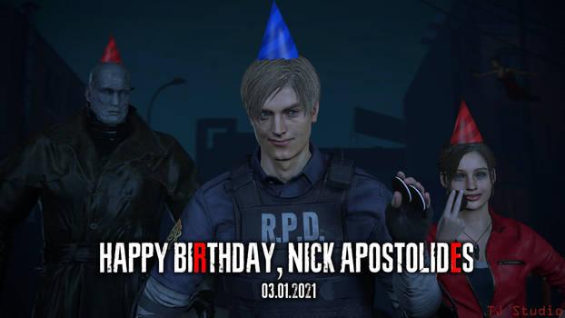 [Resident Evil SFM] Happy BDay, Nick Apostolides
