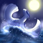 Lugia's Midnight Breach