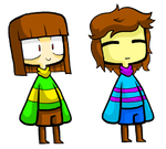 Undertale- Frisk And Chara... again