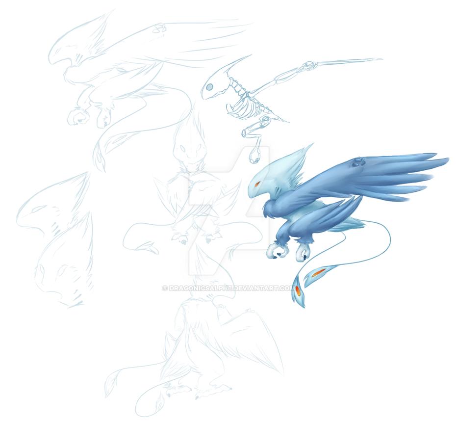 Bird. dragon. thing... by DragonicSalphe