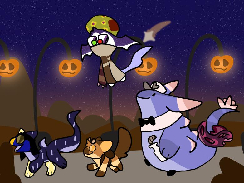 Halloween E by ozie20x