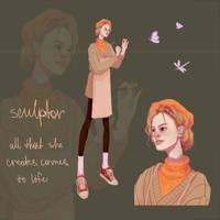 [OPEN] Sculptor Girl Auction by sppichkka