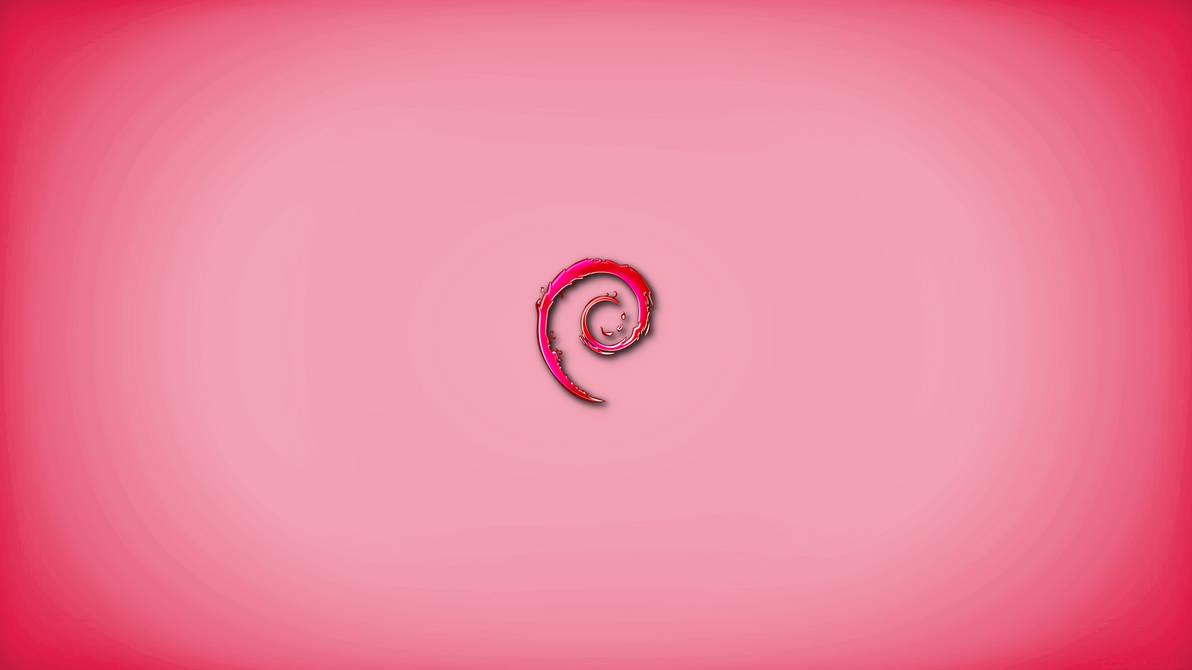 Debian 8 pink by calexil on DeviantArt