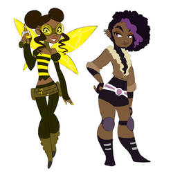Bumblebee and Rocket by ActionKiddy