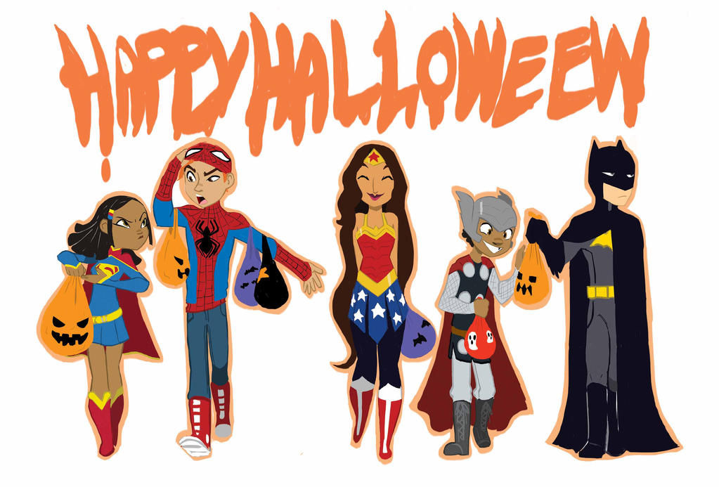 Super Halloween by ActionKiddy