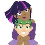 Human Twilight And Spike