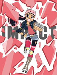 Impact Gal by ActionKiddy
