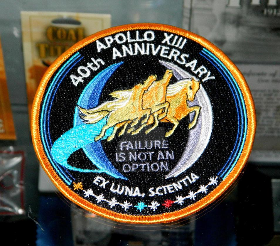 Apollo 13 Patch Apollo 13 40th Anniversary
