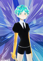 Phosphophyllite by ArdenSmiley