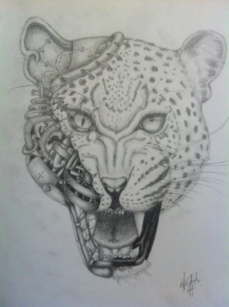 mechanical monsters leopard by angelatissimo on deviantart