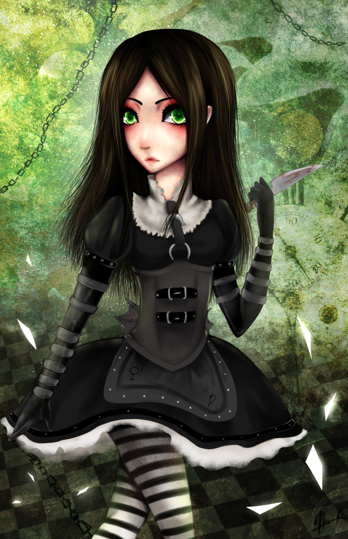 Steampunk Alice by NekuruK