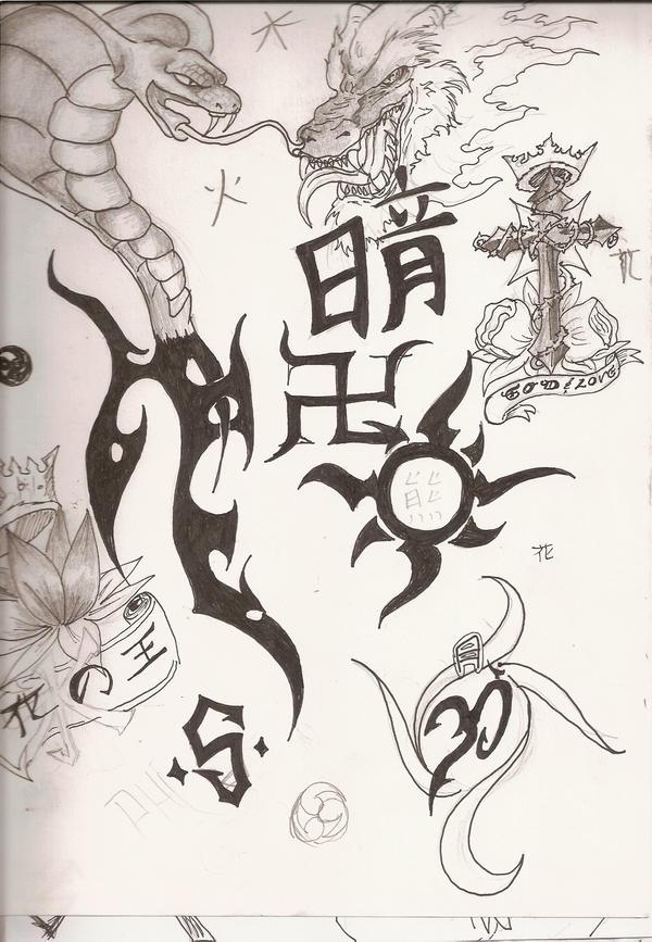 Random Tattoos By FrostyX999 On DeviantArt