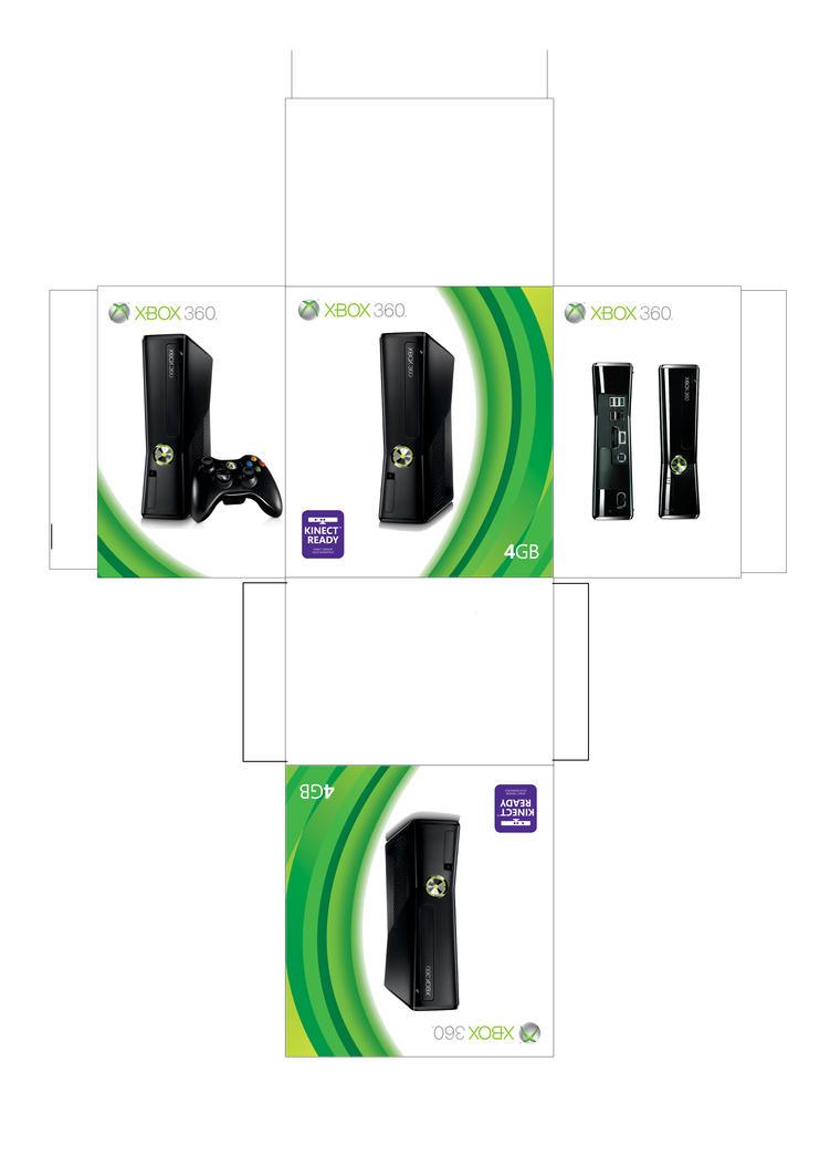 Xbox 360 slim box by facundoneglia on deviantart xbox 360 slim box by facundoneglia jeuxipadfo Gallery