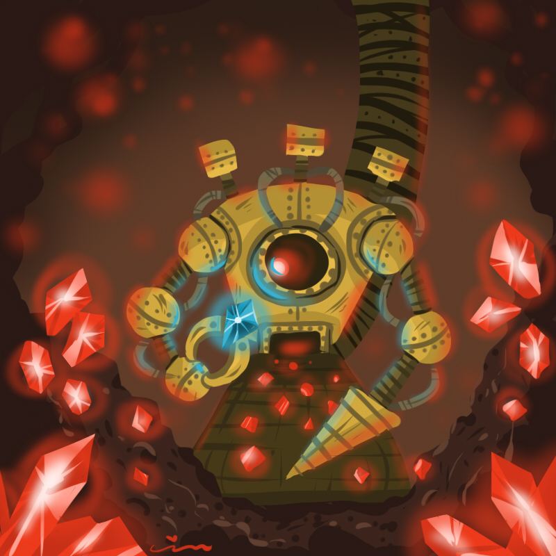Steampunk Machine by BakaBlueChi